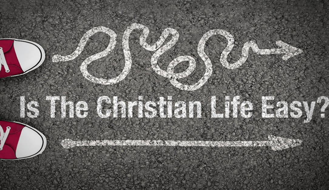 Who Ever Said The Christian Life Is Easy?