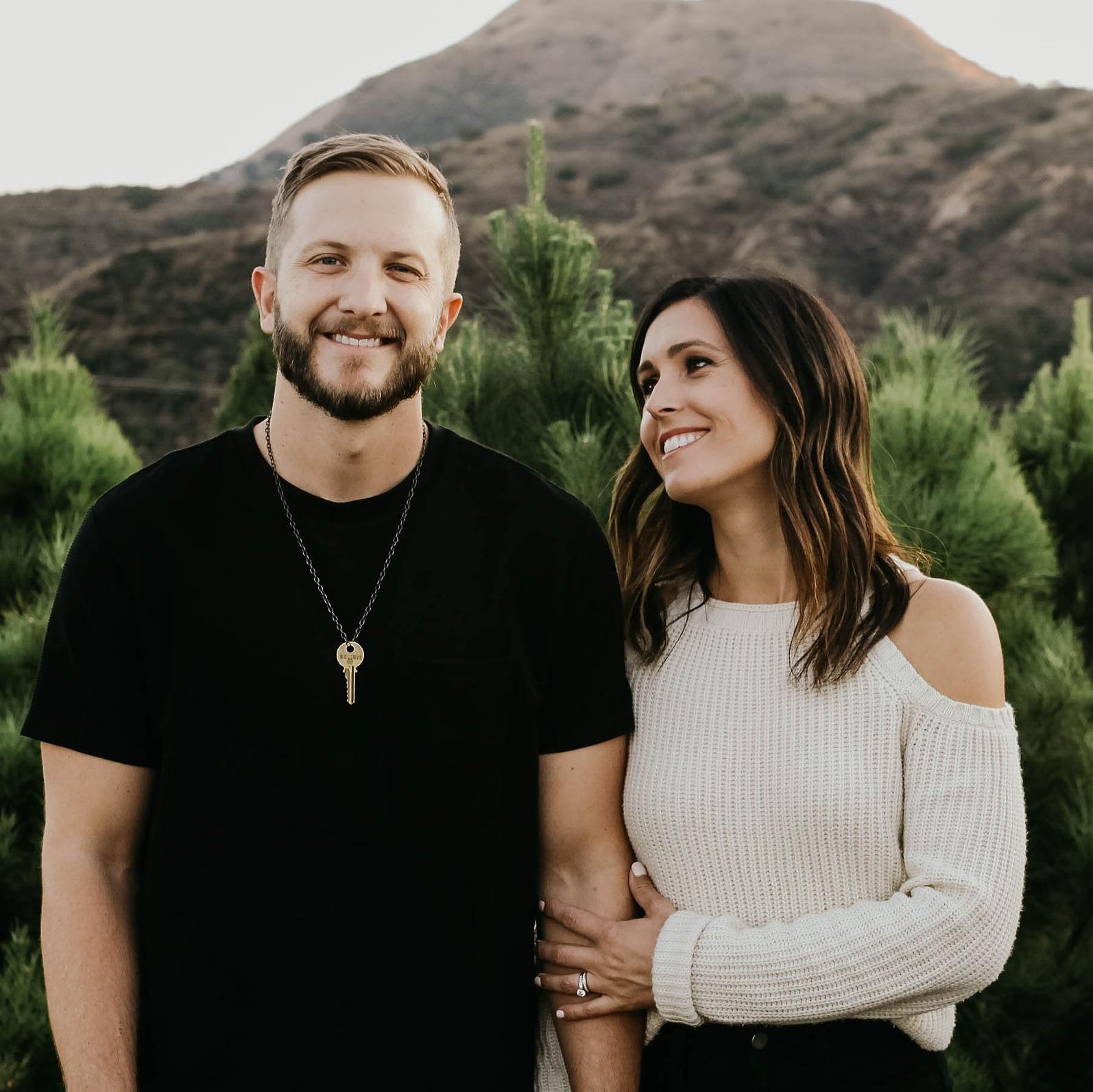 Pastor Brenen and Morgan